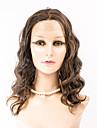 Femme Perruque Synthetique Lace Front Ondules Marron fonce Brun # 27 # 30 # 33 Perruque Deguisement