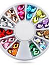 1wheel oval nail decorations-Bijoux pour ongles-Doigt- enAdorable-6cm wheel