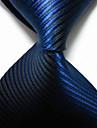 bărbați de partid / de seară dungi regal jacquard țesute cravată cravată