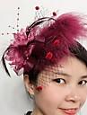 Femei Pană Net Diadema-Nuntă Ocazie specială Pălărioare 1 Bucată