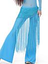 رقص شرقي حزام للمرأة التدريب سباندكس شرابة حزام البطن شال الورك للرقص / قاعة رقص