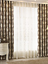Blackout Curtains Drapes Kids Room Geometic Polyester Jacquard