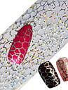 100x4cm nyeste glitter nail art fuld tips wraps DIY spindelvæv sexet søm folier overfører polsk klæbende mærkat negle decals