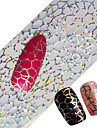 100x4cm Latest Glitter Nail Art Full Tips Wraps DIY Cobweb Sexy Nail Foils Transfer Polish Adhesive Sticker Nail Decals