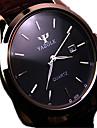 Bărbați Ceas de Mână Quartz Calendar Rezistent la Apă Oțel inoxidabil Bandă Negru Maro Maro Negru/Alb Negru Maro/Alb Etiopia