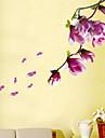 Landskap Blommig Väggklistermärken Väggstickers Flygplan Dekrativa Väggstickers, Vinyl Hem-dekoration vägg~~POS=TRUNC Vägg