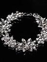 Pentru femei Transparent Lanț Brățări Bijuterii Argintiu Pentru Nuntă Petrecere Ocazie specială Zi de Naștere Logodnă Gril pe Kamado