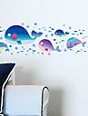 Peisaj Animale Romantic Fantezie Perete Postituri Autocolante perete plane Autocolante de Perete Decorative, Vinil Pagina de decorare de