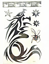 #(1) Mönster Vattentät Totemserier Tatueringsklistermärken