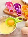 mini ou alb gălbenuș separator practic ou gălbenuș de ou despărțitoare alb ustensile de bucătărie de gătit culoare aleatorii