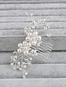 Pearl Hair Combs with 1 Wedding / Special Occasion / Casual Headpiece