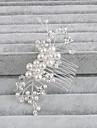 Perle Peignes avec 1 Mariage / Occasion speciale / Decontracte Casque