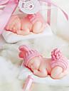 Petrecerea Baby Shower Favoruri lumânare Piece / Set Lumânări Nepersonalizat Roz / Albastru