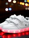 Fete Pantofi PU Toamnă Confortabili / Pantofi Usori Adidași de Atletism Cataramă / LED pentru Alb / Negru / Roz