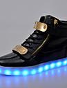 Bărbați Pantofi Piele Originală Iarnă Primăvară Vară Toamnă Confortabili Pantofi Usori Cizme/Cizme la Gleznă Dantelă pentru De Atletism