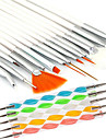 20pcs Nail Art Files & Buffers Nail Art Tool Moderiktig design nagel konst manikyr Pedikyr Trä / Plast / Nylon Chic och modern / Metall