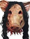măști de porc înfiorător cosplay se confruntă plin de Halloween festival barty ziua de nastere din cauciuc partid costum de teatru masca
