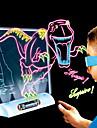 Desen Toy Mese de Jucărie pentru Desenat Dinosaur Zi de Naștere Iluminat Iluminat LED LED Magie #D Clasic Băieți