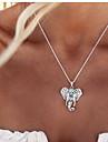 Pentru femei Coliere cu Pandativ - Vintage Draguț Petrecere Casual Stilul Folk Modă Elefant Animal Coliere Pentru Petrecere Zilnic