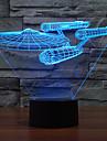 3 d lampă de colorat tactil viziune condus cadou lampă atmosferă lampă de birou de culoare schimbare lumina de noapte