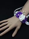 """Flori de Nuntă Corsaj de mână Nuntă Party / Seara Satin 1.57""""(Approx.4cm)"""