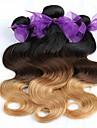 Cheveux Malaisiens Ondulation naturelle Tissages de cheveux humains 3 Pièces 0.3