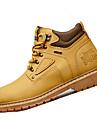 Bărbați Pantofi Sintetic Primăvară Toamnă Confortabili Cizme Drumeții Dantelă Pentru Casual Negru Galben Maro Gri