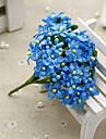 Konstgjorda blommor 1 Gren Pastoral Stil Brudslöja Bordsblomma