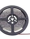 SENCART 5m Fâșii De Becuri LEd Flexibile 600 LED-uri 3528 SMD Alb Cald / Alb Rezistent la apă / Ce poate fi Tăiat / De Legat 12 V 1 buc / IP65 / Potrivite Pentru Autovehicule / Auto- Adeziv