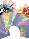63 pcs Полностью накладные ногти Стразы для ногтей маникюр Маникюр педикюр Милый Фрукты / Цветы / Классика Повседневные / Мультяшная тематика / Украшения для ногтей