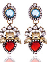 Pentru femei Cristal - Placat Auriu Vintage Bej / Rosu / Roz Pentru Nuntă / Petrecere