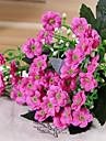Konstgjorda blommor 1 Gren Pastoral Stil Violett Bordsblomma