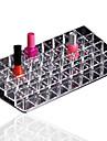 1pc / lot sundries organisateur titulaire de rouge a levres acrylique stockage cosmetiques boite de maquillage afficher 36 grilles
