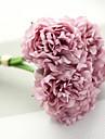 """1 ramură Poliester Plastic Bujori Față de masă flori Flori artificiale 30(11.81"""")"""