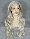 Synthetische Peruecken Wellen Blond Blondine Synthetische Haare Blond Peruecke Spitzenfront