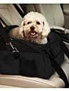 Pisici Câine Portbagaje & rucsacuri de călătorie Husă Scaune Mașină Animale de Companie  Genţi Transport Portabil Pliabil Mată Negru