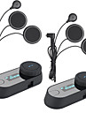 2pcs 2016 versiunea TCOM-sc ecran set cu cască Bluetooth BT casca motocicleta interfon Interfon LCD FM radiosoft cască