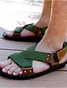 Bărbați Pantofi Nailon Pânză Vară Sandale pentru Casual Negru Verde