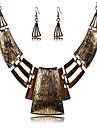 Pentru femei Argilă Set bijuterii Include Σκουλαρίκια Coliere - Vintage Sexy Festival / Sărbătoare European Argilă Aliaj Bijuterii Seturi