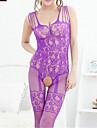 Feminin Ultra Sexy / Teddy / Costume Pijamale Polyester Solid Alb / Roz / Violet / Albastru / Negru
