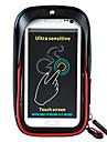 Wheel up Sac de telephone portable Sac de cadre de velo Sacoche de Guidon de Velo 6 pouce Etanche Zip etanche Resistant a la poussiere