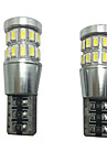 2st 12V 6W T10 ledde CAN-bus lampa ledde readling lampa ledde registreringsskylt lampa