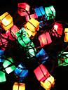 jul dekoration lampor presentpåse artikeln ledde glimt ljus träd ljus vårfest dekoration 28lamp uttaget