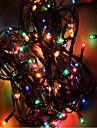 mx-QCD 100l șir de 10 metri lumini de Crăciun decora aduce vacanță lumini de copac intermitente schimbarea automată a culorilor