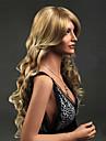 Synthetische Peruecken Wellen Stil Kappenlos Peruecke Blond Blond Synthetische Haare Damen Blond Peruecke Lang Natuerliche Peruecke