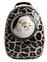 Pisici / Câine Portbagaje & rucsacuri de călătorie / Astronautul capsulei Carrier Animale de Companie  Genţi Transport Portabil / Respirabil Leopard / Zebră Culori Asortate / Maro deschis / Narcisă