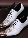 Homme Chaussures Polyurethane Confort Oxfords pour Mariage Soiree & Evenement Blanc