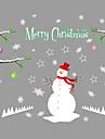 Paysage Animaux Noel Stickers muraux Autocollants avion Autocollants muraux decoratifs Decoration d\'interieur Calque Mural Mur Verre /
