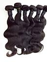 Malaysiskt hår Obehandlad hår Kroppsvågor Hårförlängning av äkta hår Heta Försäljning Human Hår vävar