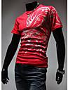 Bărbați Cu Bretele Tricou Casul/Zilnic Simplu(ă),Imprimeu Manșon scurt Bumbac